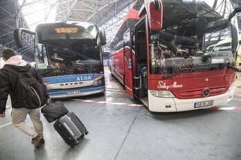 Adelantan los horarios de bus a Burgos desde Frías y Oña