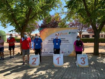 Celebrada con éxito la Copa Fecam de Petanca en Mota
