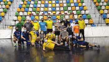El BM Caserío sigue apostando por el balonmano inclusivo