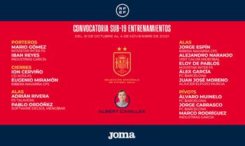 Álex Naranjo vuelve a la lista de la selección sub 19