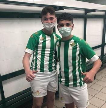 Dos canteranos de la EMB Miguelturra, a prueba con el Betis