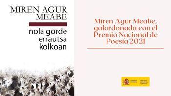 Miren Agur Meabe, Premio Nacional de Poesía 2021