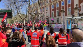Los trabajadores del transporte sanitario saldrán a la calle