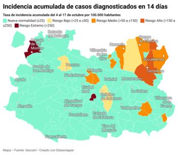 83 municipios libres del virus