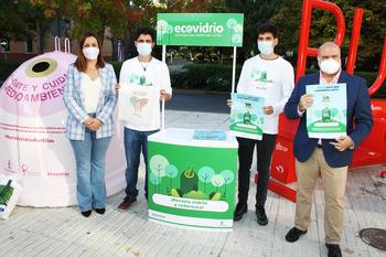 Puertollano quiere reciclar más vidrio