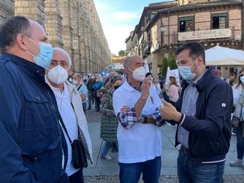 Tudanca: Abierto al diálogo para blindar la sanidad