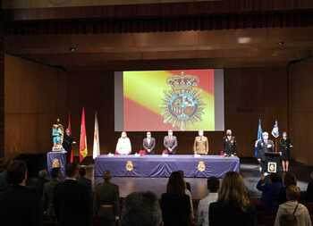 La Policía Nacional celebra la festividad de sus patronos