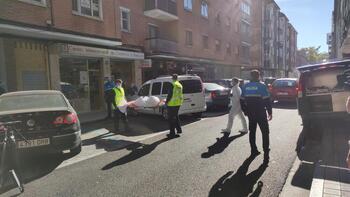 Fallece una mujer en el incendio de una vivienda en Palencia