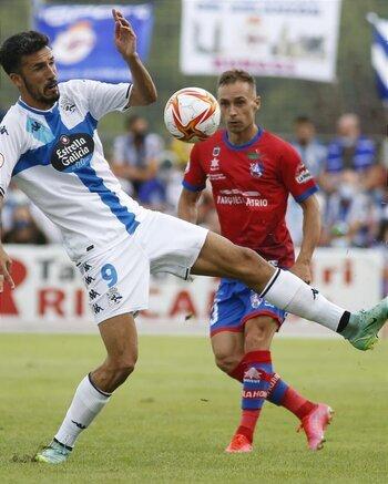 El Calahorra no es rival para el Deportivo