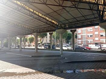 Comienza el arreglo de la estación de autobuses
