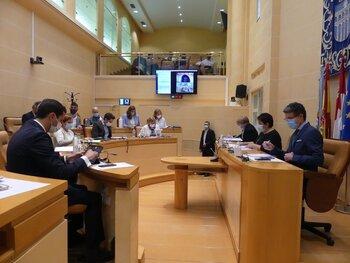 El Pleno aprueba una moción por la posible unidad militar