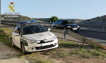 Interceptados tres coches a más de 200 km/h en la R-4