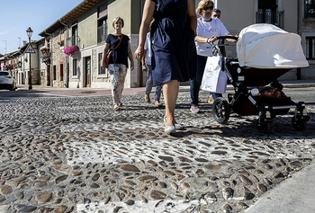 Alfonso VIII, una calle imposible para los discapacitados