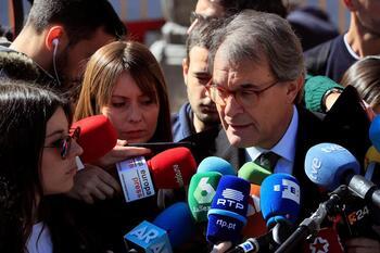 La Justicia avala la condena de Mas por la consulta del 9-N