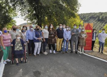 Solana del Pino estrena la primera 'carretera paisajística'
