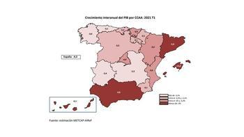 CLM es la comunidad con menor caída de PIB estimada