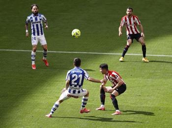 El Athletic se estrella con Pacheco