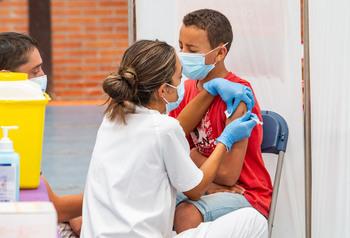 27.330 palentinos sin vacuna, la mitad con menos de12 años