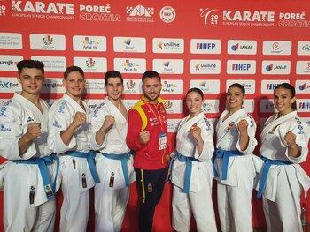 Manzana luchará por el oro europeo con el equipo de kata