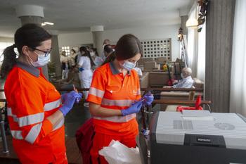 Finalizan terceras dosis de vacuna en residencias de mayores