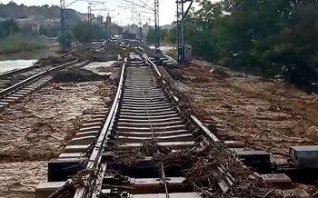 Cortado el servicio AVE Madrid-Toledo por daños en la vía