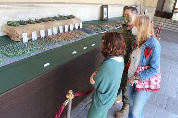 El Palacio Real acoge una exposición de miniaturas militares