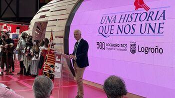 Logroño se promociona en Fitur con el Sitio y la Enópolis