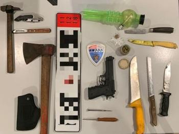 La Policía Local interviene un arma de fuego simulada