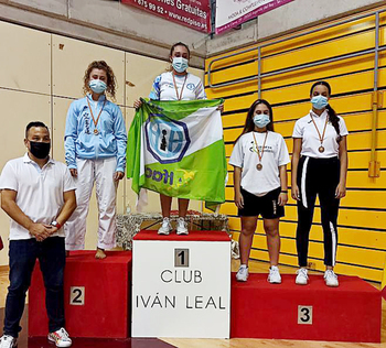 Cuatro podios en Arganda