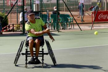 Juan Ramón Ortiz ganó en el Club de Tenis Albacete