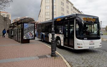 El bus urbano registra el 65% de la actividad prepandemia