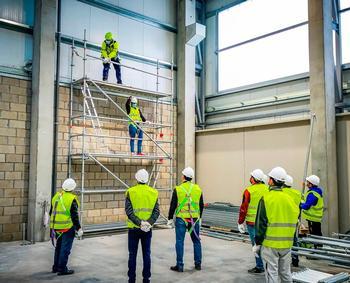 El nicho laboral de la construcción