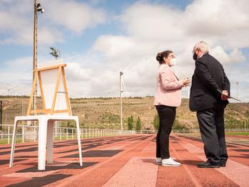 El Gobierno aporta 200.000 euros a la pista de Calahorra