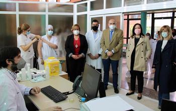 Ya se han inoculado 185.000 vacunas en la provincia