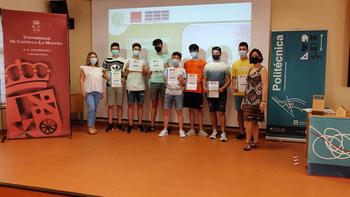 Alumnos ganadores del IES Ramón y Cajal
