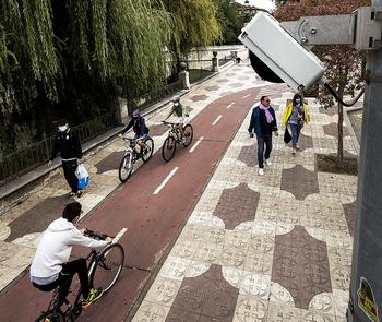 Nuevo récord en el tráfico de bicis: más de 2.000 diarias