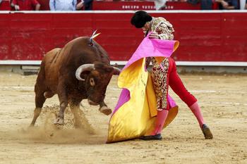 Andrés Palacios cortó una oreja en Yecla