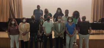 Imagen de la reunión.