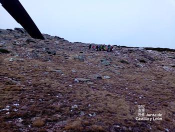Rescatan a un hombre cerca de la cumbre del Pico del Lobo