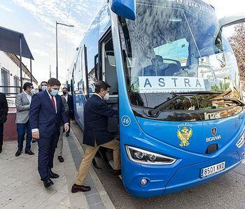 El Astra sube a 8 las expediciones en bus Burguillos-Toledo