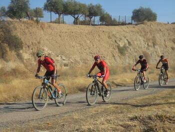 La Sierra de san Vicente acoge una marcha ciclista