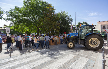 Apoyo municipal a la marcha de los agricultores