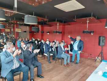 José Antonio de los Mozos urge la A-73 y la Alta Velocidad