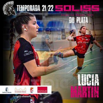 Lucía Martín, octava jugadora confirmada con el Pozuelo