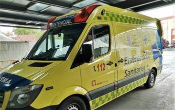 Seis heridos en un accidente en San Vicente del Palacio