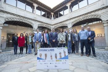 Ávila acoge los socios del proyecto europeo 'Circular Labs'
