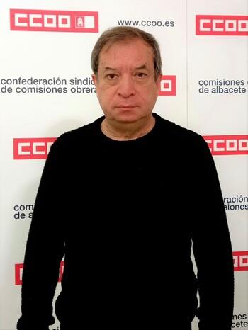 Juan Zamora, responsable sindical de CCOO de la Administración General del Estado.