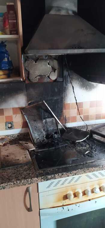 Incendio en una vivienda de Ciudad Real