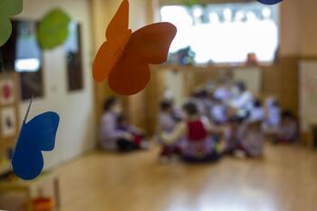 Educación cierra un aula en Treviño por casos de covid