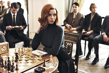 'Gambito de dama', unión de ajedrez y letras